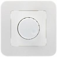 LED Dimmer - 230V - Einbau - 1-300W - Weiß
