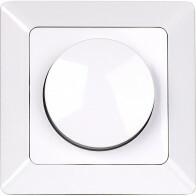 LED Dimmer - Aigi - Einbau - 3-60W - Weiß