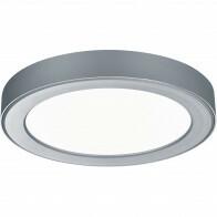 LED Deckenleuchte - Einbau - Trion Jonimo - 18W - Warm Weiß 3000K - Rund - Matt Titan - Kunststoff
