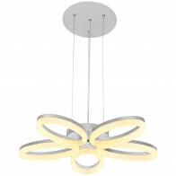 LED Deckenleuchte - Deckenbeleuchtung - Luxury - 40W - Universalweiß 4000K - Weiß Aluminium