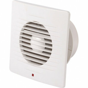 Badkamer - Toilet - Ventilator - 205mm - 20W - 150m3