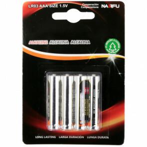 Batterij - Aigi Sio - AAA/LR03 - 1.5V - Alkaline Batterijen - 4 Stuks
