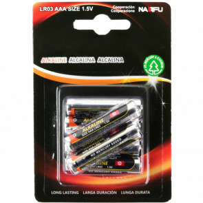 Batterij - Aigi Sio - AAA/LR03 - 1.5V - Alkaline Batterijen - 6 Stuks