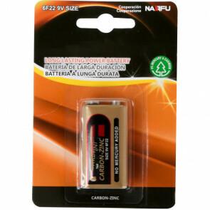 Blokbatterij - Aigi Sewi - 6F22 - 9V - Lithium Batterijen - 1 Stuk