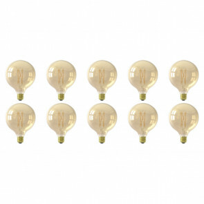LED Lamp 10 Pack - E27 Fitting - 10W Dimbaar - Warm Wit 3000K