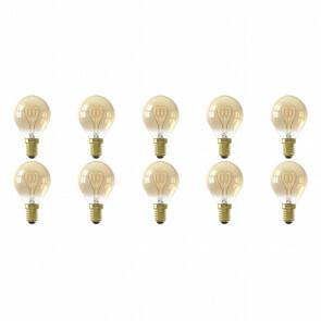 LED Lamp 10 Pack - Facto - Filament Bulb - E14 Fitting - 4W - Warm Wit 2700K