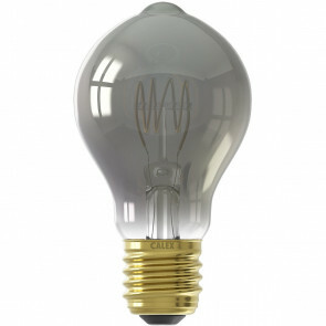 CALEX - LED Lamp - Filament A60 - E27 Fitting - Dimbaar - 4W - Warm Wit 2100K - Titanium
