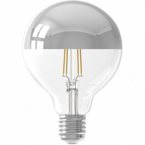 CALEX - LED Lamp - Globe - Filament G95 - E27 Fitting - Dimbaar - 4W - Warm Wit 2100K - Titanium