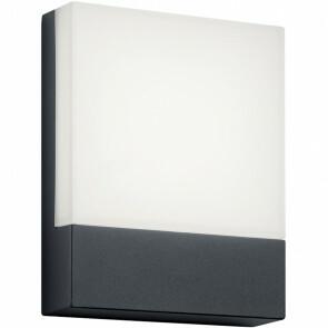 Huisnummer Verlichting - Trion Pecano - 6W - Warm Wit 3000K - Mat Zwart - Aluminium