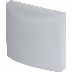Huisnummer Verlichting - Viron Pecani - 6W - Warm Wit 3000K - Mat Wit - Aluminium