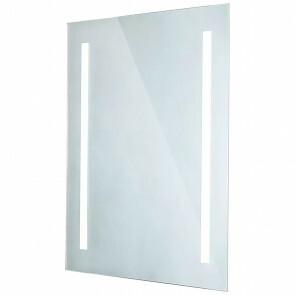 LED Badkamerspiegel - Viron Mirron - 50x70cm - Rechthoek - Anti Condens - Aan/Uit Schakelaar - Helder/Koud Wit 6400K