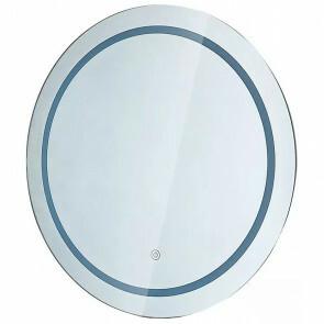 LED Badkamerspiegel - Viron Mirron - Ø60cm - Rond - Anti Condens - Touch Schakelaar - Aanpasbare Kleur CCT