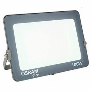 LED Bouwlamp 100 Watt - LED Schijnwerper - OSRAM - Helder/Koud Wit 6000K - Waterdicht IP65