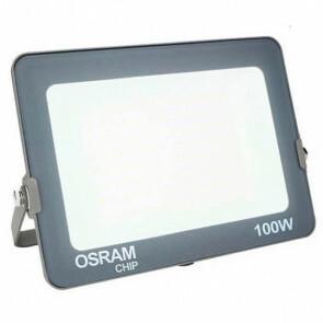 OSRAM - LED Bouwlamp 100 Watt - LED Schijnwerper - Warm Wit 3000K - Waterdicht IP65