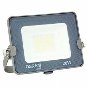 LED Bouwlamp 20 Watt - LED Schijnwerper - OSRAM - Helder/Koud Wit 6000K - Waterdicht IP65