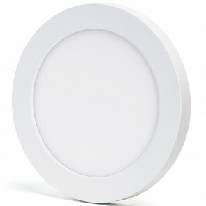 LED Downlight Pro - Aigi - Opbouw Rond 12W - Aanpasbare Kleur - Mat Wit - Kunststof - Ø170mm