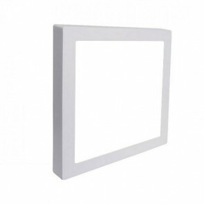 LED Downlight Pro - Aigi - Opbouw Vierkant 12W - Helder/Koud Wit 6000K - Mat Wit Aluminium - 172mm