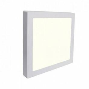 LED Downlight Pro - Aigi - Opbouw Vierkant 12W - Natuurlijk Wit 4000K - Mat Wit Aluminium - 172mm