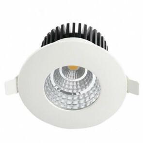 LED Downlight Rond Inbouw Waterdicht IP65 6W 4200K Natuurlijk Wit Aluminium Mat Wit Armatuur/Frame 90mm