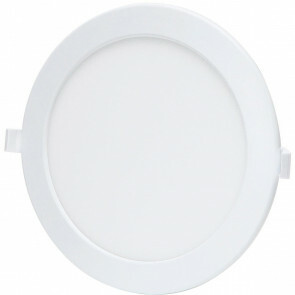 LED Downlight - Smart LED - Aigi Zumba - 18W - Aanpasbare Kleur - Inbouw Rond - Mat Wit - Aluminium - Ø220mm