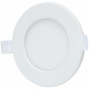 LED Downlight - Smart LED - Aigi Zumba - 6W - Aanpasbare Kleur - Inbouw Rond - Mat Wit - Aluminium - Ø105mm