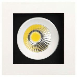 LED Downlight Vierkant Inbouw 8W 6400K Helder/Koud Wit Aluminium Mat Wit Armatuur/Frame Kantelbaar 100x100mm 2