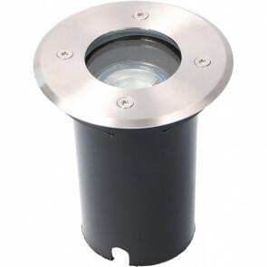 LED Grondspot - Viron Mia - Inbouw - Vierkant - GU10 Fitting - Waterdicht IP65 - Grijs - RVS - Ø110mm