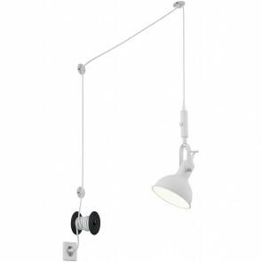 LED Hanglamp - Trion Corloni - E14 Fitting - Rond - Mat Wit - Aluminium