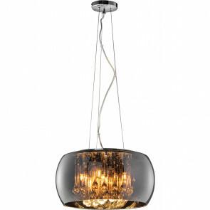 LED Hanglamp - Trion Vapiro - G9 Fitting - 5-lichts - Rond - Mat Chroom - Glas