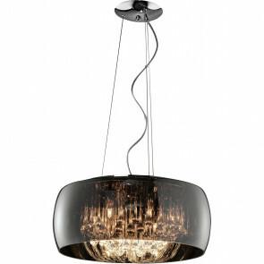 LED Hanglamp - Trion Vapiro - G9 Fitting - 6-lichts - Rond - Mat Chroom - Glas