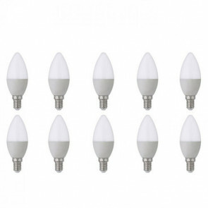 LED Lamp 10 Pack - E14 Fitting - 6W - Helder/Koud Wit 6400K