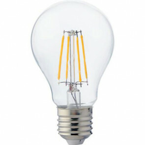 LED Lamp - Filament - E27 Fitting - 8W - Natuurlijk Wit 4200K