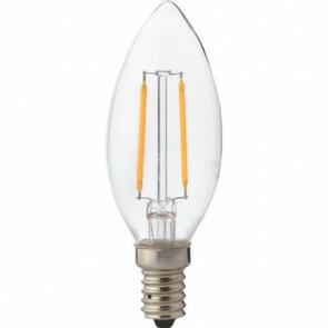 LED Lamp - Kaarslamp - Filament - E14 Fitting - 2W - Natuurlijk Wit 4200K