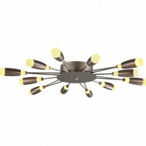 LED Modern Design Plafondlamp / Plafondverlichting Fave 62W Natuurlijk Wit 4000K Aluminium Bruine Armatuur