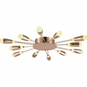LED Modern Design Plafondlamp / Plafondverlichting Fave 62W Natuurlijk Wit 4000K Aluminium Koperen Armatuur