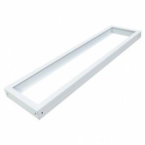 LED Paneel 30x120 - Aigi - Opbouw Frame - Aluminium - Wit