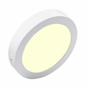 LED Spot / LED Downlight / LED Paneel Set BSE Slim Rond Opbouw 12W 3000K Warm Wit 170mm Spatwaterdicht