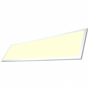 LED Paneel - Viron Ganto - 120x30 Warm Wit 3000K - 29W Inbouw Rechthoek - Mat Wit - Aluminium