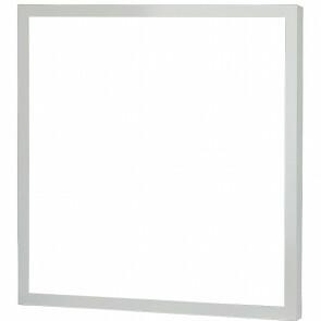 LED Paneel - Viron Ganto - 60x60 Helder/Koud Wit 6400K - 25W Inbouw Vierkant - Mat Wit - Aluminium