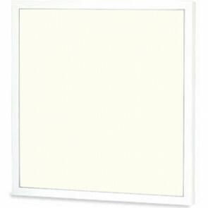 LED Paneel - Viron Ganto - 60x60 Natuurlijk Wit 4000K - 25W Inbouw Vierkant - Mat Wit - Aluminium