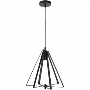 LED Plafondlamp - Plafondverlichting - Maxi - Industrieel - Rond - Mat Zwart Aluminium - E27