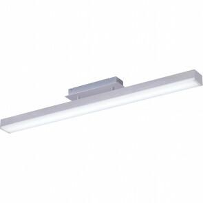 LED Plafondlamp WiZ - Plafondverlichting - Trion Lavar - 20W - Aanpasbare Kleur - RGBW - Rechthoek - Mat Nikkel - Aluminium