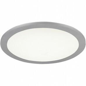 LED Plafondlamp WiZ - Trion Alineon - Slimme LED - Dimbaar - Aanpasbare Kleur - 15W - Mat Titaan - Rond