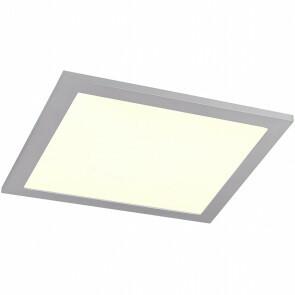 LED Plafondlamp WiZ - Trion Alineon - Slimme LED - Dimbaar - Aanpasbare Kleur - 15W - Mat Titaan - Vierkant