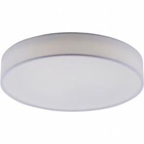 LED Plafondlamp WiZ - Trion Ditro - 36W - Aanpasbare Kleur - Dimbaar - Afstandsbediening - Rond - Mat Wit - Aluminium