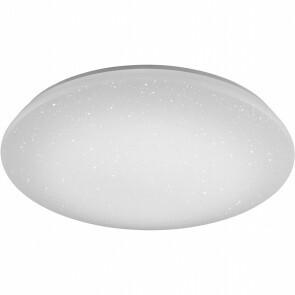 LED Plafondlamp WiZ - Trion Nilon - 40W - Aanpasbare Kleur - Dimbaar - Afstandsbediening - Sterlicht - Rond - Mat Wit - Kunststof
