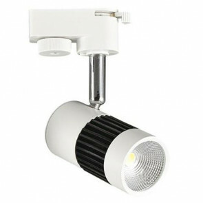 LED Railverlichting - 13W Rond - Natuurlijk Wit 4200K - Mat Zwart/Wit Aluminium