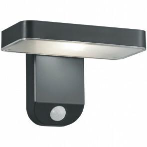 LED Solar Tuinverlichting - Trion Escarino - Zonne-energie - Bewegingssensor - 4W - Mat Zwart