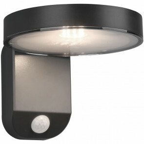 LED Solar Tuinverlichting - Trion Posyda - Zonne-energie - Bewegingssensor - 4W - Mat Zwart