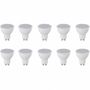 LED Spot 10 Pack - GU10 Fitting - 6W - Natuurlijk Wit 4200K